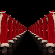 Tunnel-of-Dancing-Santa-Clauses-isolated-on-black-background-4K-Video-Art-VJ-Footage-1920_007 VJ Loops Farm