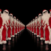 Tunnel-of-Dancing-Santa-Clauses-isolated-on-black-background-4K-Video-Art-VJ-Footage-1920_008 VJ Loops Farm