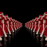 Tunnel-of-Dancing-Santa-Clauses-isolated-on-black-background-4K-Video-Art-VJ-Footage-1920_009 VJ Loops Farm