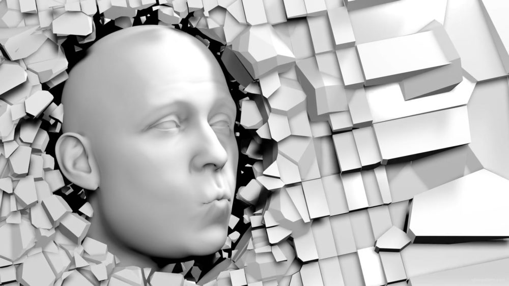 vj video background Amazed-bald-man-3D-face-appears-through-broken-wall-projection-mapping-loop-ewvyil-1920_003