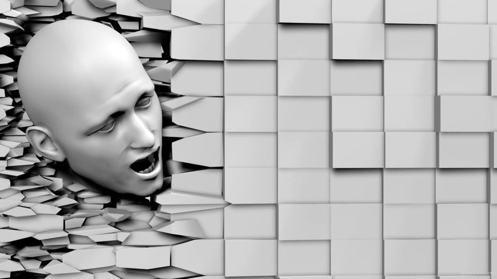 Angry-Shouting-Face-Look-Through-Craked-Wall-Projection-Mapping-Loop-4w3pxu-1920_007 VJ Loops Farm
