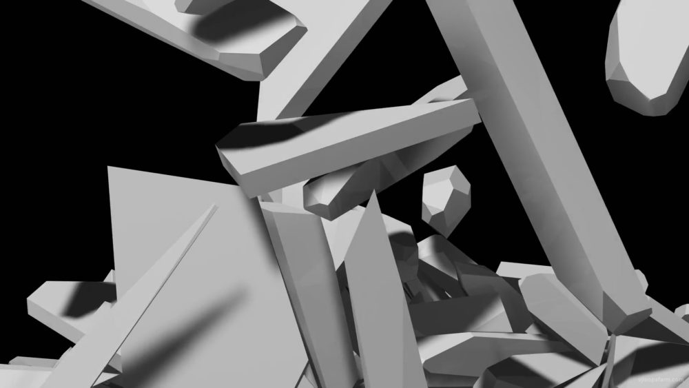vj video background Big-Elements-demolished-on-breaking-wall-Mapping-Loop-gmegfd-1920_003
