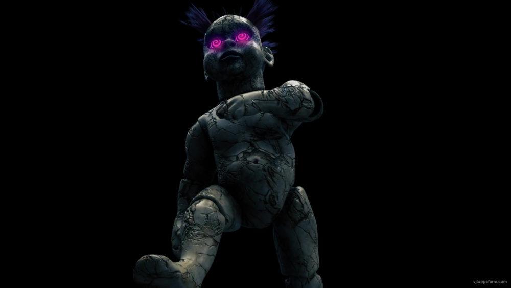 vj video background Single-Horror-doll-walking-on-black-background-Ultra-HD-Video-Loop-6onhch-1920_003