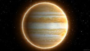 vj video background View-from-Space-of-Spinning-Shinning-Planet-Jupiter-and-Stars-Timelapse-uksw8v-1920_003