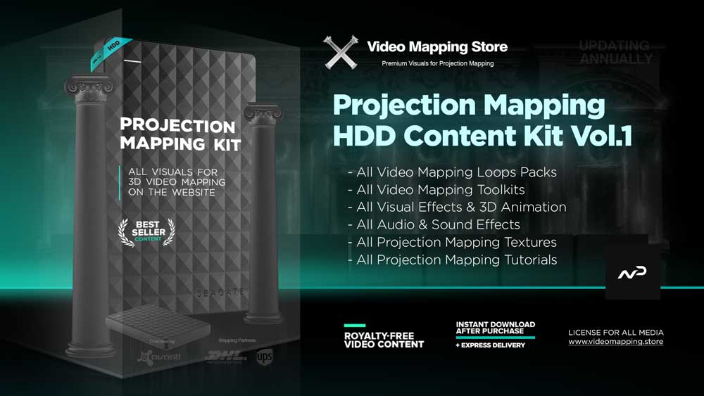 Kit-Projection-Mapping-Kit-Vol1