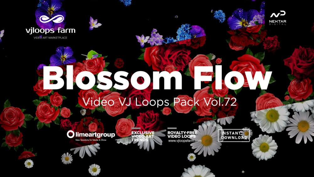 Blossom Flow VJ Loops Pack 72