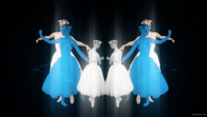 Blue-White-Ballerina-Dancing-in-Mirror-Tunnel-4K-VJ-Loop-8oxrek-1920_005 VJ Loops Farm