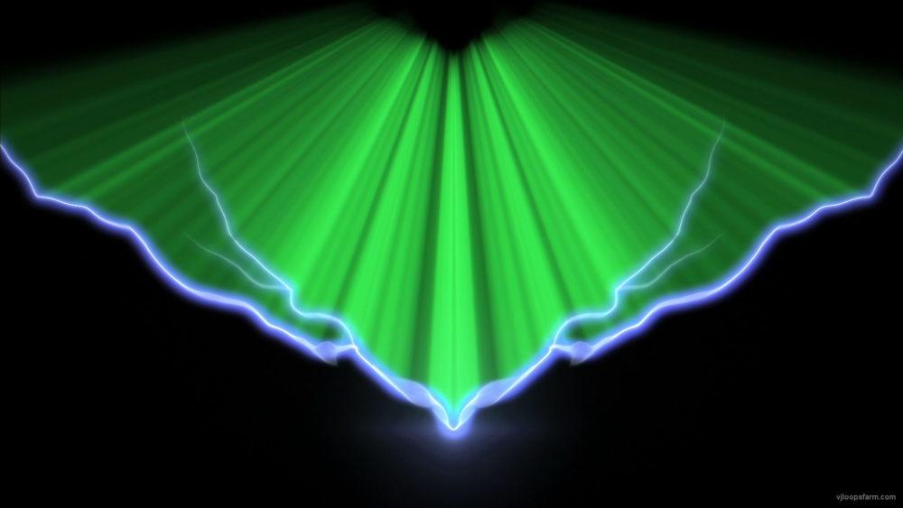 vj video background V-sign-blue-Lightning-lines-with-green-shine-rays-video-art-vj-loop-b3ieft_003