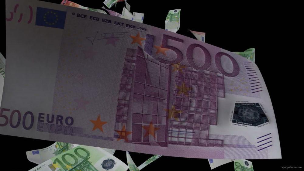 Euro-currency-bills-flying-into-frame-3D-animation-mka0gl-1920_007 VJ Loops Farm