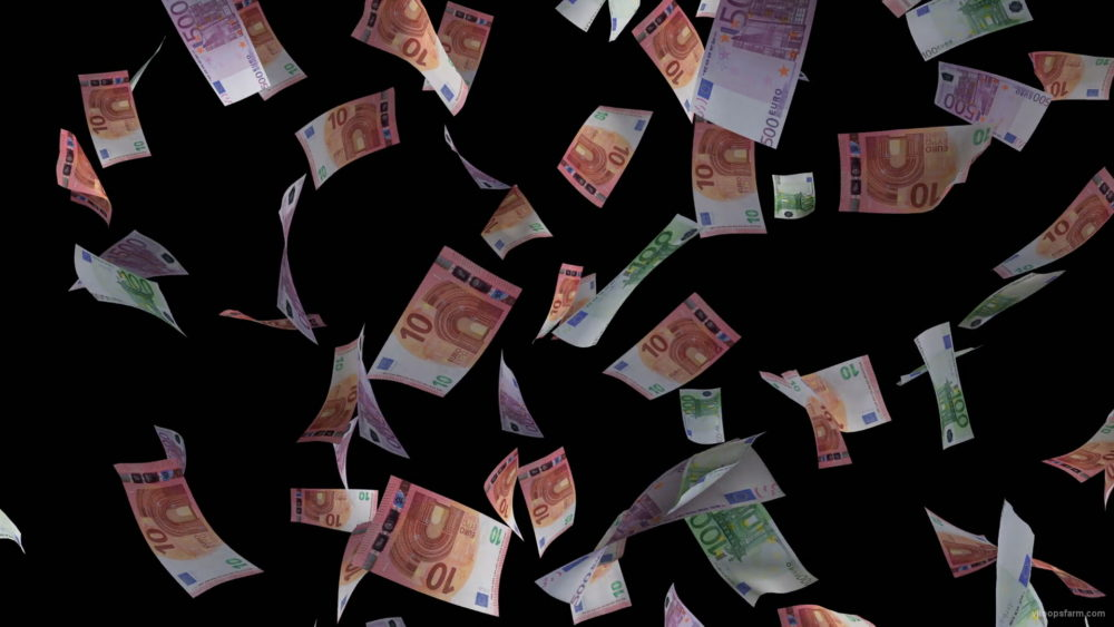 Fast-fall-down-banknotes-euro-currency-on-black-background-lqvlqn-1920_007 VJ Loops Farm