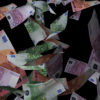 banknotes 3d animation