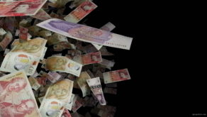 British-pounds-paper-bills-rotating-in-space-on-black-background-5hzatv-1920_009 VJ Loops Farm