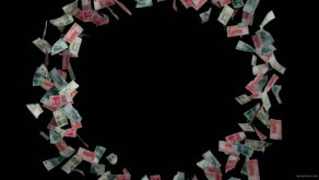 Chinese-yuan-paper-money-currency-flying-in-circle-useca1-1920_007 VJ Loops Farm