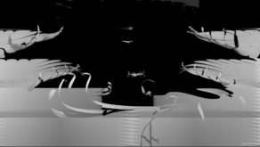 Black-fiber-stripes-filling-screen-one-by-one-projection-mapping-loop-yjswse-1920_008 VJ Loops Farm