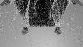Hexagonal-hole-moves-through-sand-wall-looped-animated-texture-0xujhf-1920_007 VJ Loops Farm