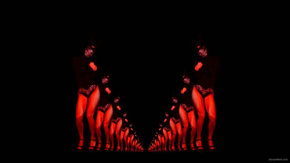 Jumping-Rabbit-Girl-with-red-strobe-effect-isolated-on-black-background-4K-Video-Art-VJ-Footage-v5hred-1920_004 VJ Loops Farm
