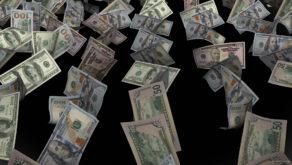 Slowly-moving-down-raws-of-flying-US-dollar-bills-currency-on-black-background-cub2gw-1920_008 VJ Loops Farm