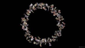 Small-rotating-circle-of-Great-Britain-pounds-of-sterling-bills-ippdv8-1920_008 VJ Loops Farm
