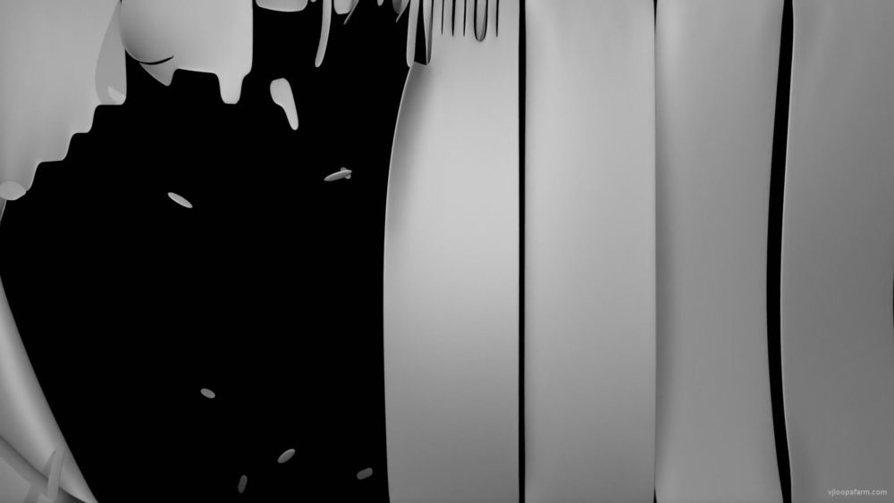 vj video background Strained-white-3D-cloth-shred-into-pieces-mapping-loop-e5r4mc-1920_003