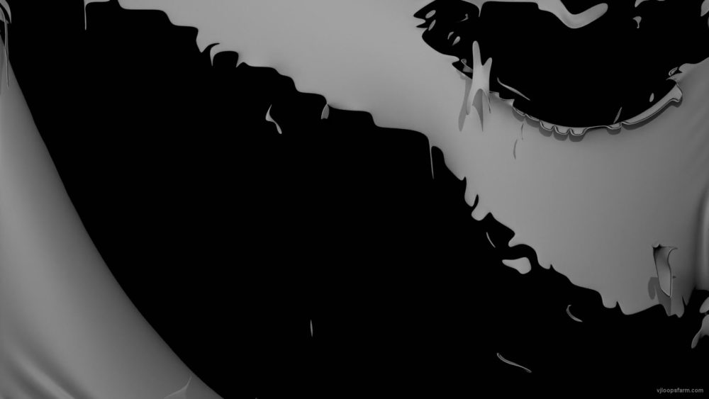 Torn-apart-gray-texture-cloth-projection-mapping-loop-3ex5xz-1920_006 VJ Loops Farm