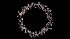 Vortex-of-euro-currency-bills-rotating-counter-clockwise-z3xrk1-1920_009 VJ Loops Farm