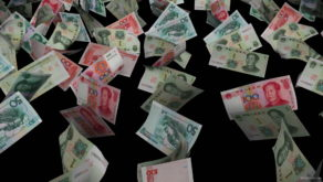 Yuan-Chinese-currency-flowing-down-money-motion-background-ihgfxf-1920_009 VJ Loops Farm
